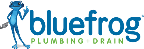 drain cleaning company bluefrog-logo